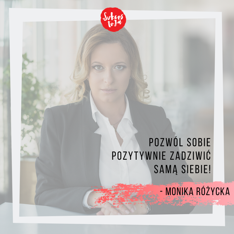 Monika Różycka skuteczna sprzedaż, rentowność firm
