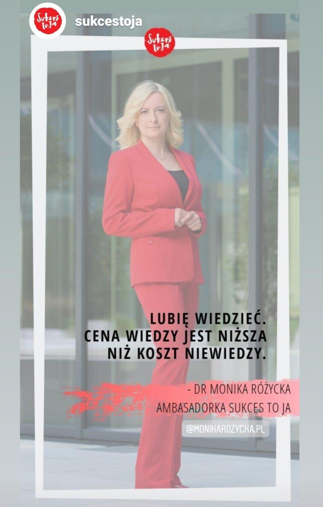 dr Monika Różycka szczecin